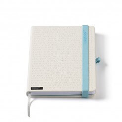 Lanybook The One White Blauw