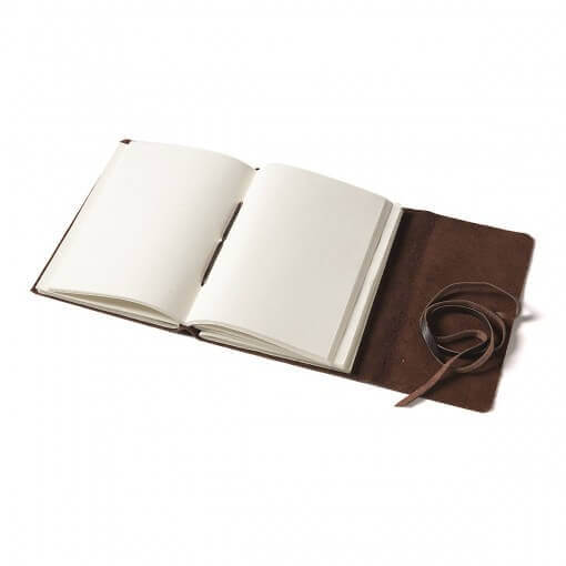 Nkuku leren notitieboek Timu