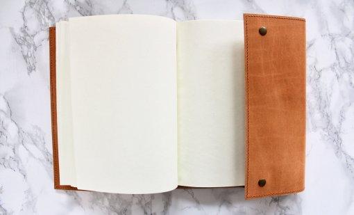 Nkuku leren notitieboek Savannah 1