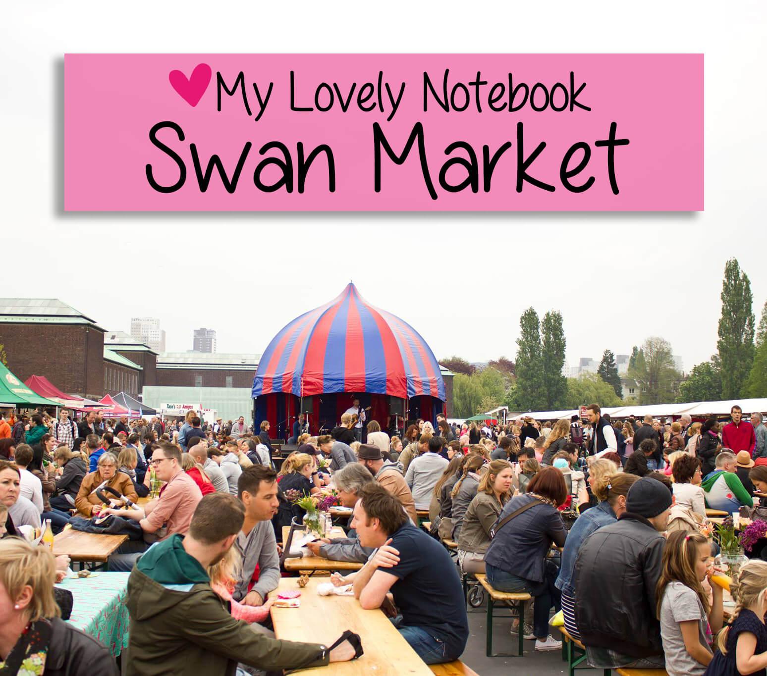 Swan market 27 juli - Rotterdam
