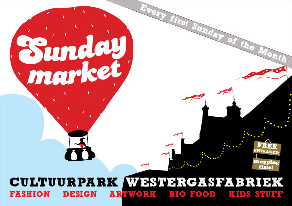 8 juni sunday Market Amsterdam