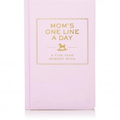 Moms one line a day - 5 year memory book