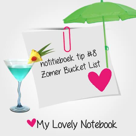 Jouw eigen ZOMER bucket list