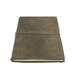 Nkuku Suede notitieboekje taupe