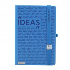 Lanybook notitieboek Idea Factory blauw