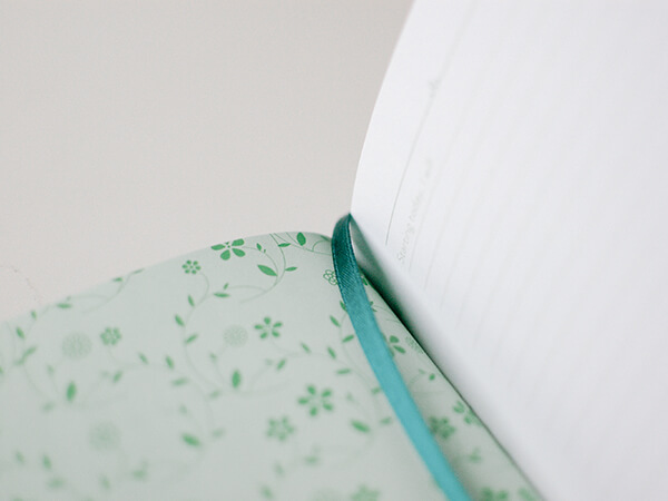 Notitieboek starting today intention journal