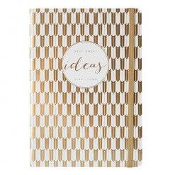 Gouden ideeën notitieboek