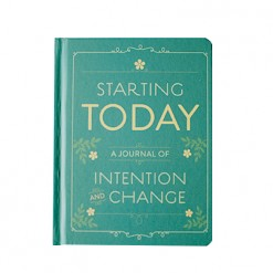 Notitieboek starting today intention journal