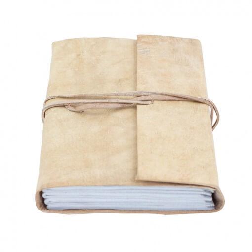 Notitieboek buffelleer