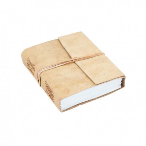 Notitieboek buffelleer medium