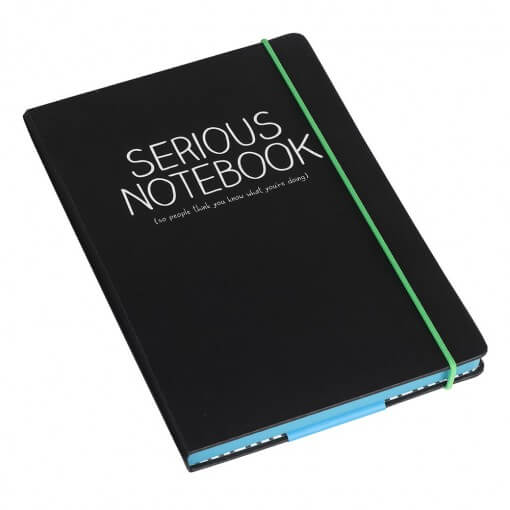 happy jackson serious notebook