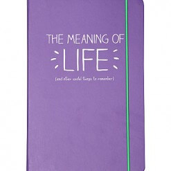 Happy Jackson the meaning of life notitieboek A5