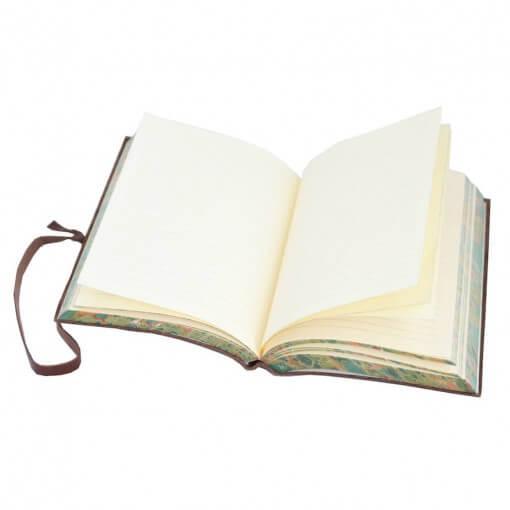 Leren notitieboek Chianti donkerbruin