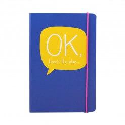 Happy Jackson Ok, here's the plan notitieboek A5