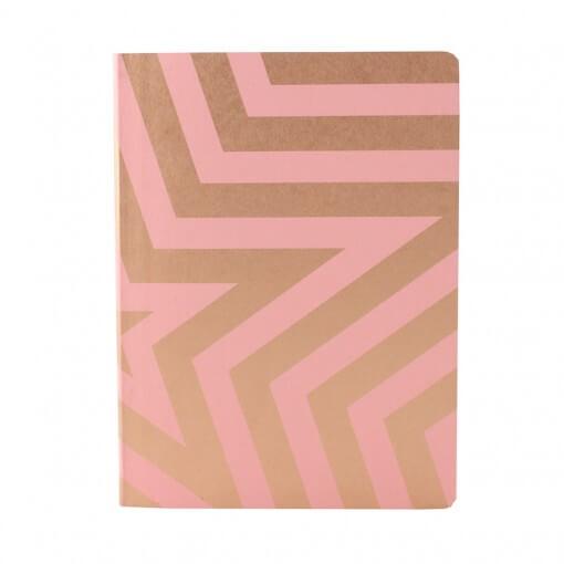 Nuuna notitieboek Super star roze