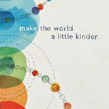 Compendium notitieboek Make the world a little kinder