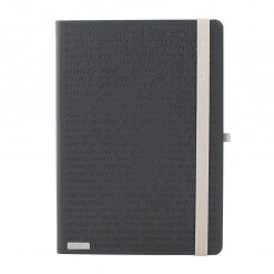 Big Dotted Notebook B5 - Spiral Dot Grid Paper Notebook - Tan Cover 7.5
