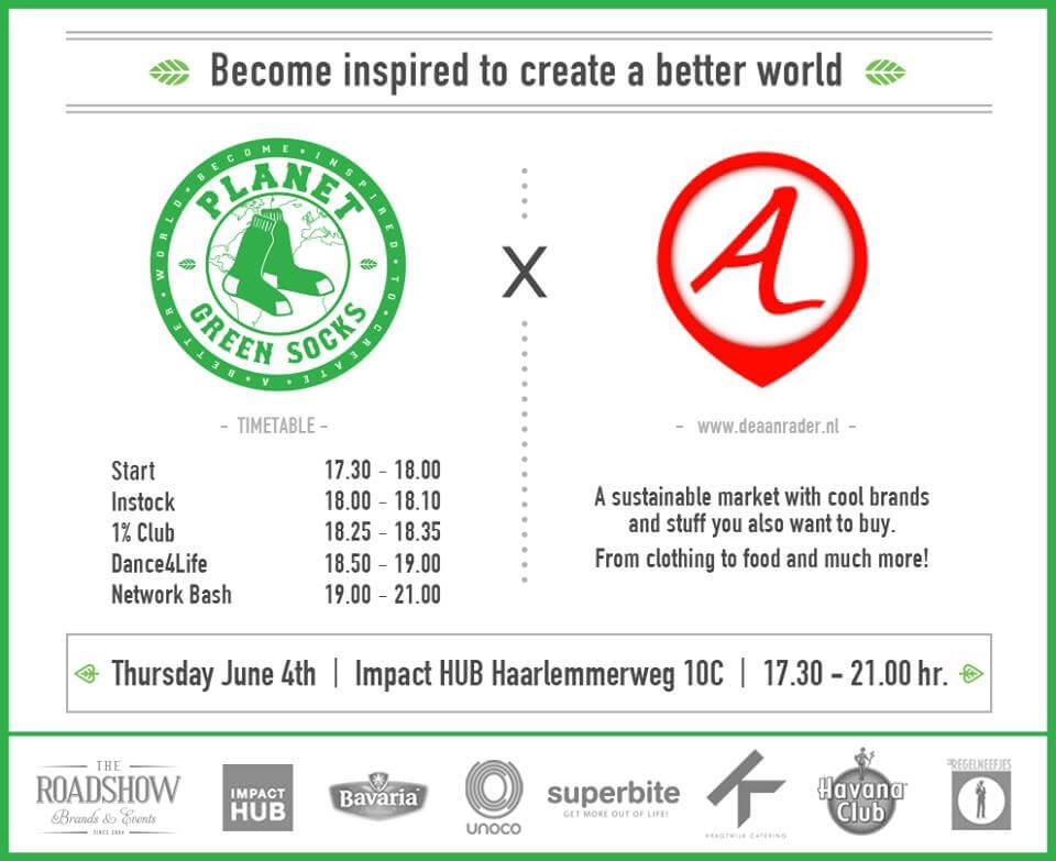 Inspirerend event en duurzame markt - 4 juni 2015 Amsterdam