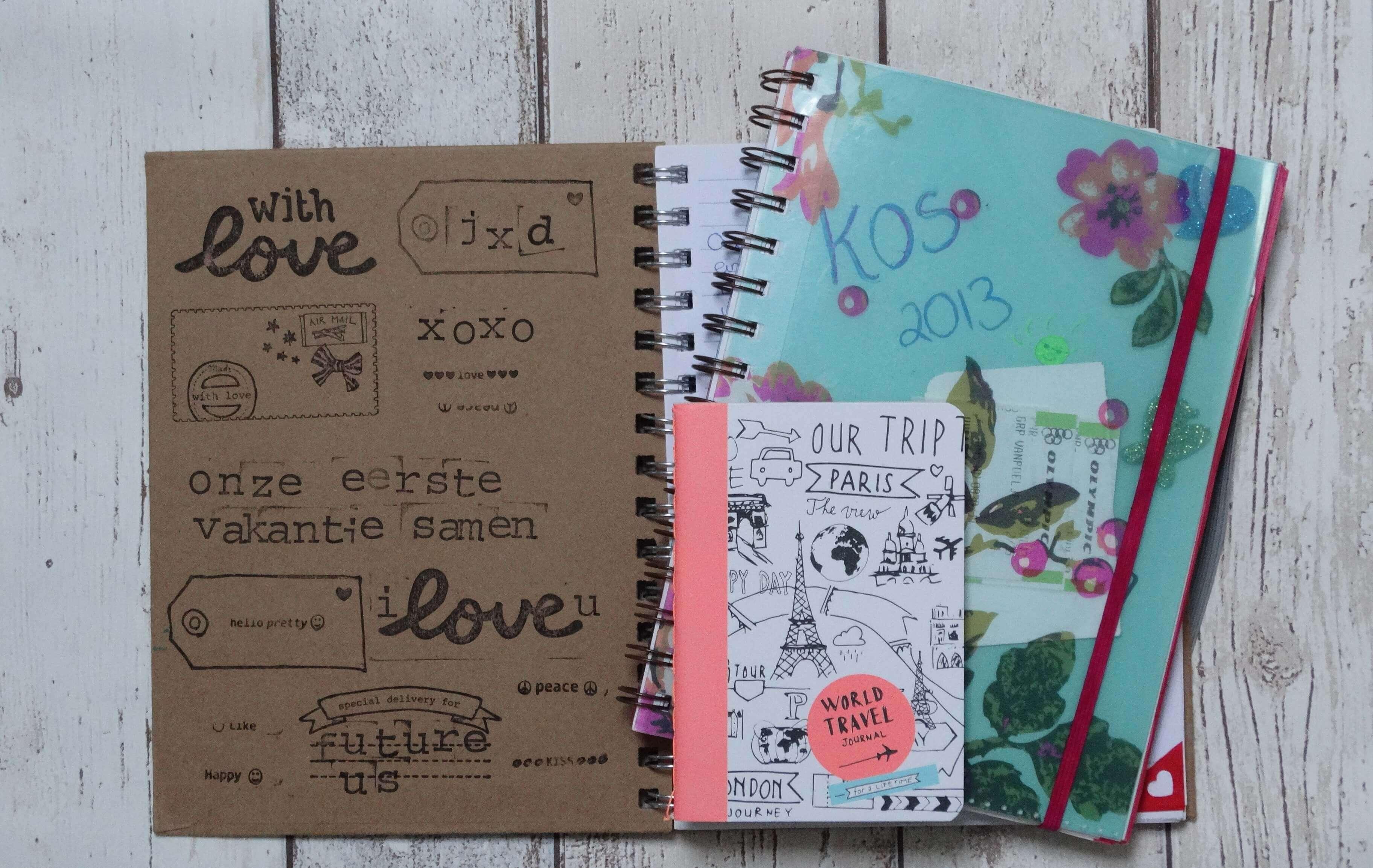 Met een reisdagboekje maak je je reis echt onvergetelijk