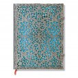 Paperblanks notitieboek Silver Filigree Maya Blue