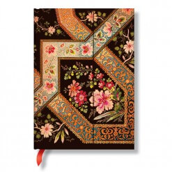 Paperblanks notitieboek Lyon Florals ebony midi