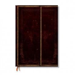 Paperblanks notitieboek Old leather Black Moroccan grande