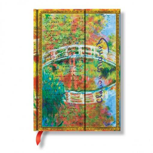 Paperblanks notitieboek Monet bridge