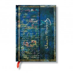 Paperblanks notitieboek Monet Water Lilies midi