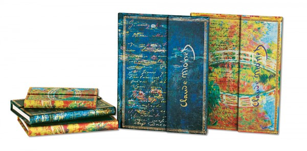Paperblanks notitieboeken set Monet Journals