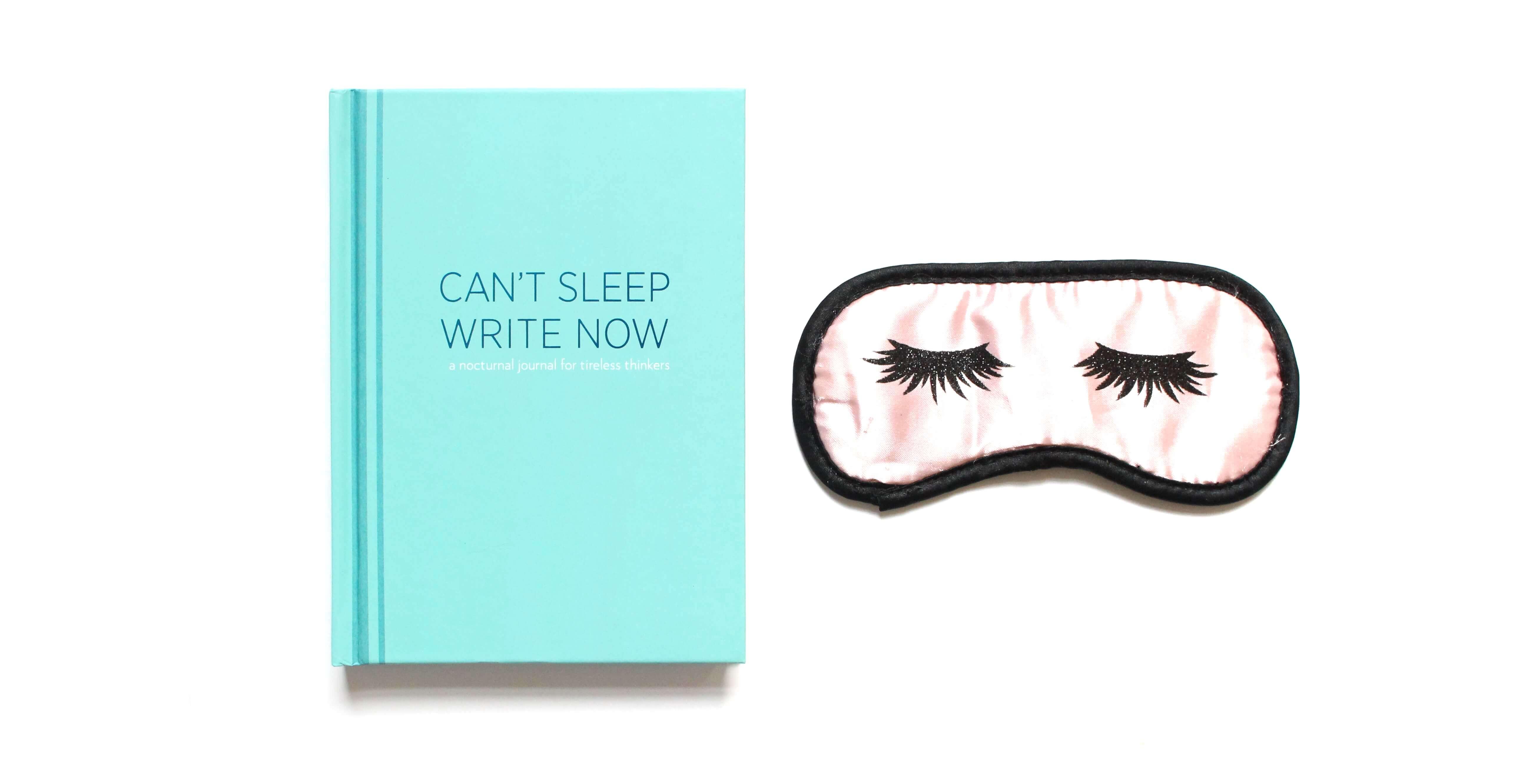 Can't sleep write now - voor nachtelijke piekeraars