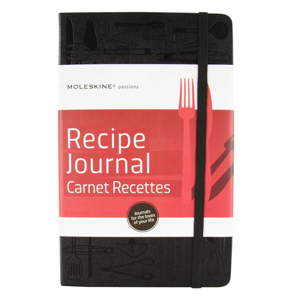 Moleskine Passion Journal - Recipe, Large, Hard Cover (5 x 8.25) (Passion Book