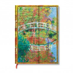 Paperblanks notitieboek Monet bridge Ultra