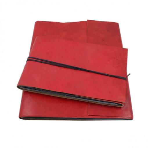 Fotoalbum leer rood large