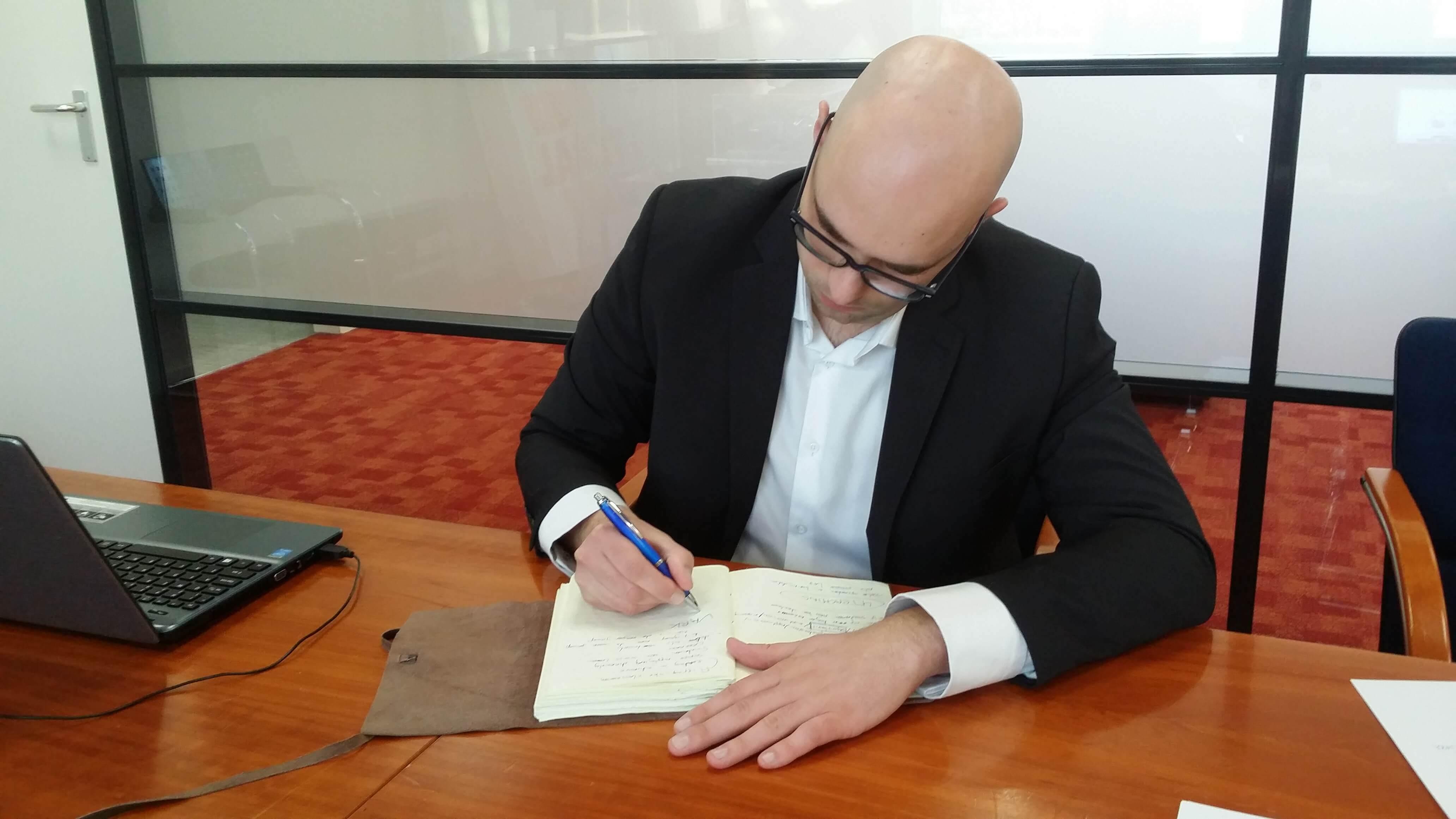 Ondernemers en de kracht van hun notitieboek - Marc de Groot