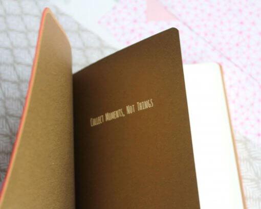 Notitieboek My Thoughts koraal 1