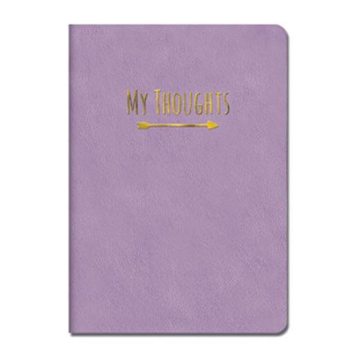 Notitieboek My Thoughts paars