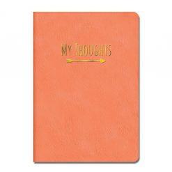 My thoughts notitieboek koraal