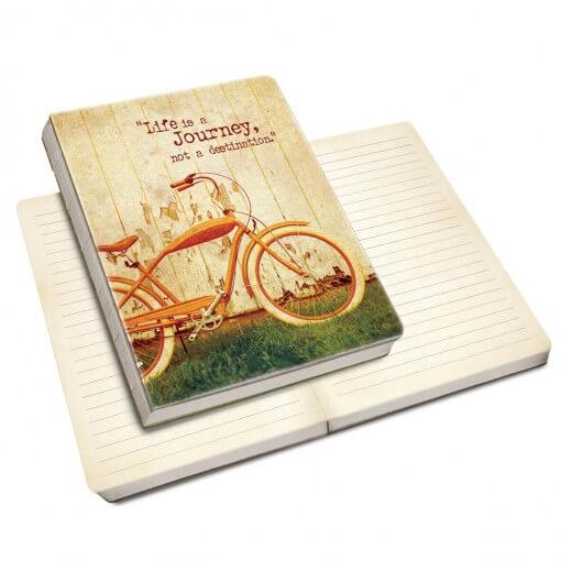 Notitieboek Life is a journey