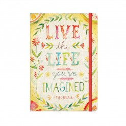 Notitieboek Live the life you've imagined