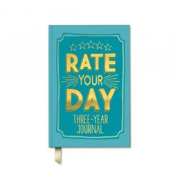 Rate your day dagboek voor 3 jaar