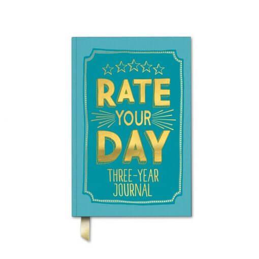 Rate your day dagboek voor 3 jaar