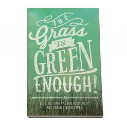 Notitieboek voor meer positiviteit: The grass is green enough!