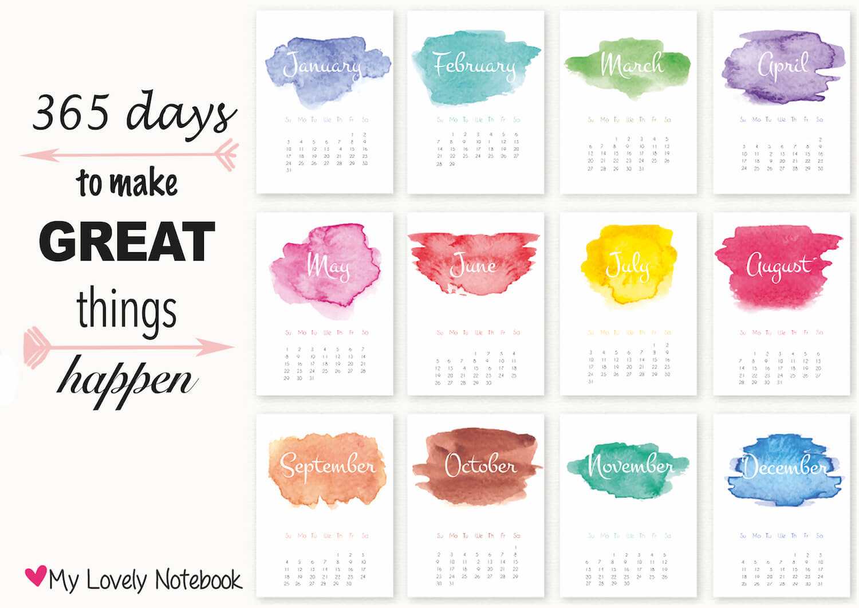 Gelukkig nieuw jaar en kalender