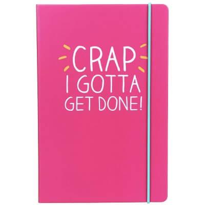 Happy Jackson crap I gotta get done! notitieboek A5
