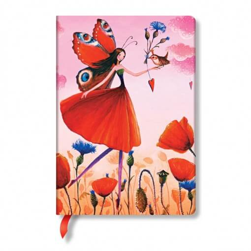 Paperblanks notitieboekje Poppy Field - Mila Marquis