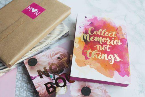 Notitieboek Collect memories not things 1