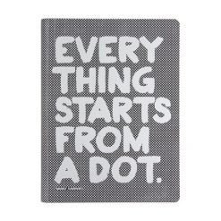 Nuuna notitieboek Everything starts from a dot.