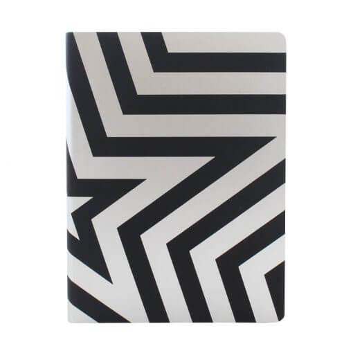 Nuuna notitieboek Super star zwart zilver