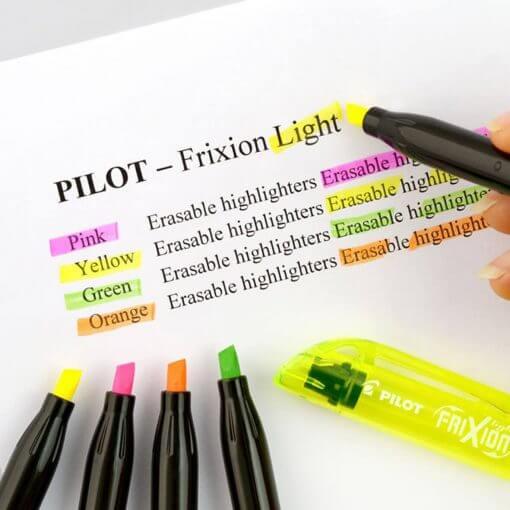 Pilot FriXion light markeerstift neon