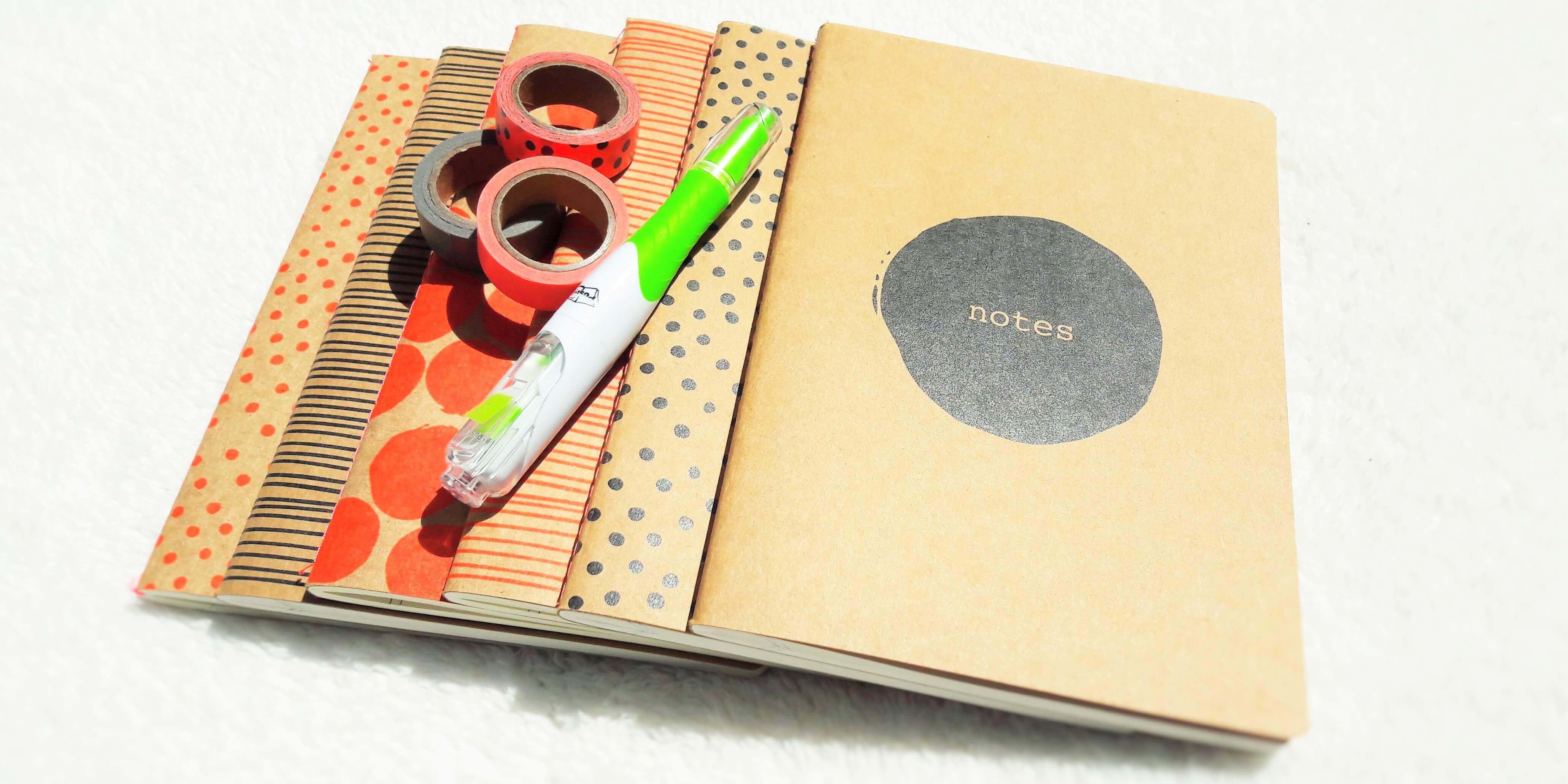 10 ideeën voor een zakelijk notitieboek